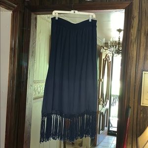 Linen and Rayon skirt